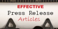 Article and Press Release Writing